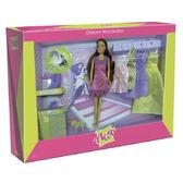 Набор с куклой 28см Гардероб мечты; вариант 2 от Ася