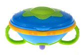 Тарелка для Свч с крышкой Улет! Посуда! 200гр 6m+, синяя от NUBY (Нуби)