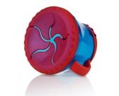 Тарелочка для сухих завтраков с ручками 250-300гр12m+, синяя с красным от NUBY (Нуби)