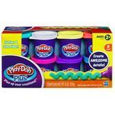 Набор пластилина из 8 баночек Play-Doh Plus от Hasbro. Play-Doh от Play-Doh (Плей Дох)