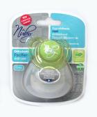 Пустышка Natural Touch с контейнером, форма Ортодонтическая 12+, зеленая от NUBY (Нуби)