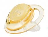 Пустышка Natural Touch с контейнером, форма Ортодонтическая 12+, желтая от NUBY (Нуби)