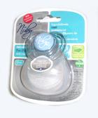 Пустышка Natural Touch с контейнером, форма Ортодонтическая 12+, голубая от NUBY (Нуби)