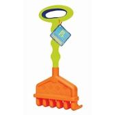 Игрушка для игры с песком - БОЛЬШИЕ грабельки (цвет красно-лайм)
