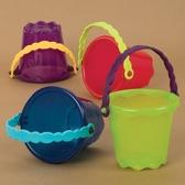 Игрушка для игры с песком и водой - мини-ведерко (цвет лайм)