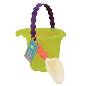 Набор для игры с песком и водой - ведерко с лопаткой (цвет лайм)