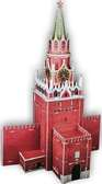 Трехмерная головоломка-конструктор Спасская башня (сложность 4)