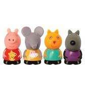 Набор игрушек-брызгунчиков Peppa - Пеппа И ЕЕ ДРУЗЬЯ (4 фигурки) от Peppa Pig (Свинка Пеппа)