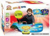 SLW 9820 МУЗЫКАЛЬНЫЙ Двухсторонний игровой коврик ДЕНЬ И НОЧЬ (16 звуков, ПОЛЕ 95Х81 СМ.) от Touch&Play