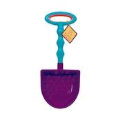 Игрушка для игры с песком - БОЛЬШАЯ лопатки (цвет сливовый-морской)