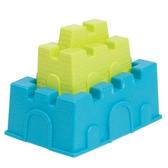 Набор для игры с песком и водой - построим ЗАМОК (2 пасочки-замка, цвет лайм и морской)
