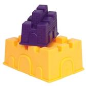 Набор для игры с песком и водой - построим ЗАМОК (2 пасочки-замка, цвет манго и сливовый)