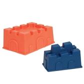 Набор для игры с песком и водой - построим ЗАМОК (2 пасочки-замка, цвет папайя и океан)