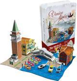 Трехмерная головоломка-конструктор 'Италия Венеция' в жестяной коробке от CubicFun (Кубикфан)