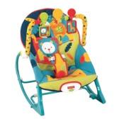 Массажное кресло-качалка Зоопарк (до 18 кг)