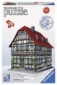 Пластмассовые 3D пазлы с аксессуарами Средневековый дом