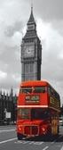 Картонные пазлы Лондонский автобус 170 элементов