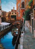 Картонные пазлы Венецианский пейзаж  1000 элементов