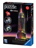 Пластмассовые 3D пазлы с аксессуарами - ночник Ночной Empire State Building