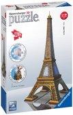 Пластмассовые 3D пазлы с аксессуарами Эйфелева башня