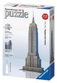 Пластмассовые 3D пазлы с аксессуарами Небоскреб Empire State Building от Ravensburger(Равенсбургер)