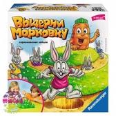 Детская настольная игра Выдерни морковку