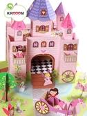 Картонный игровой набор Krooom Волшебный замок принцессы Тринни. от Krooom