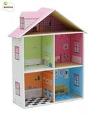 Картонный игровой набор Krooom Кукольный дом Мелроуз от Krooom