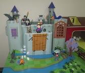 Картонный игровой набор Krooom Рыцарский замок короля Артура. от Krooom