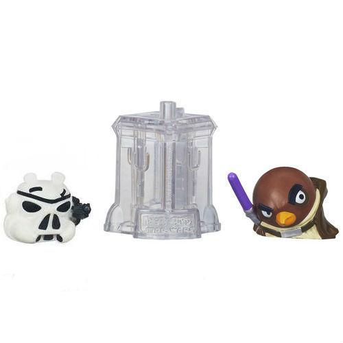 Игровой набор Angry Birds - дополнительные персонажи 2 шт от Hasbro. Star Wars, Штурмовик и Мейс Винду