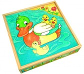 Кубики Животные (25 дет.) от BINO(Бино)