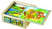Кубики Веселые животные от BINO(Бино)