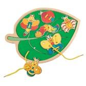 Прошивка листок с бабочками - Filino от BINO(Бино)