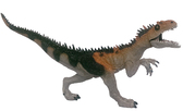 Фигурка динозавра 28 см с открывающейся пастью, HGL., серый
