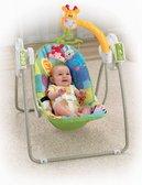 Портативное кресло - качалка Жираф