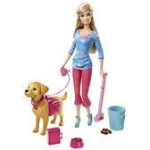 Набор Barbie с собачкой серии Уход за любимцами