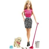 Набор Barbie Веселая прогулка с любимцем от Barbie (Барби)