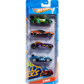 Подарочный набор автомобилей (5 шт.) от Hot Wheels (Хот Вилс)
