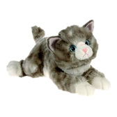 Кошка серая, 30см, AURORA. от AURORA (Аврора)