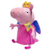 Мягкая игрушка - ПЕППА-ПРИНЦЕССА С КОРОНОЙ И ВОЛШЕБНОЙ ПАЛОЧКОЙ (45 см)