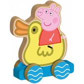 Деревянная игрушка-каталка Peppa - ВЕСЕЛОЕ ПУТЕШЕСТВИЕ от Peppa Pig (Свинка Пеппа)