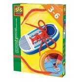 Развивающий игровой набор - УМНЫЙ БОТИНОК (ботиночек-основа, шнурочек) от Ses (Ses creative)