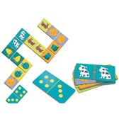 Игра – детское домино Цветные животные, Djeco
