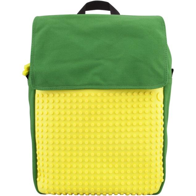 Рюкзак Fliplid Зелено-желтый, Upixel.