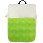 Рюкзак Fliplid Бело-зеленый, Upixel.