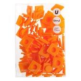 Пиксели Big 80 шт, оранжевый, Upixel.