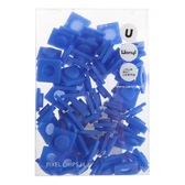 Пиксели Big 80 шт, синий, Upixel.