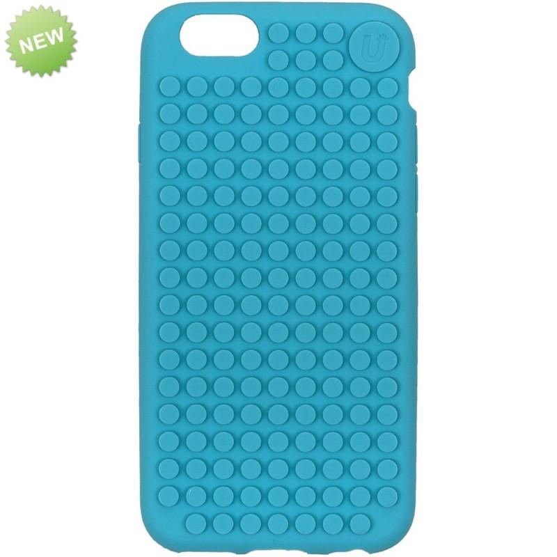Чехол iPhone-6 Голубой, Upixel.