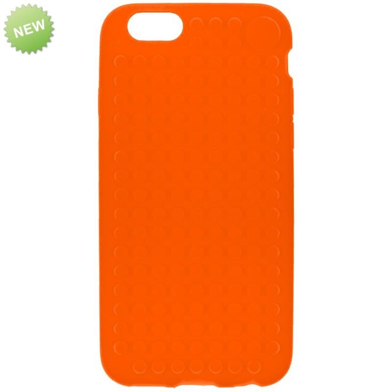 Чехол iPhone-6 Оранжевый, Upixel.