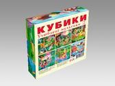 Кубики Любимые мультики В.3 (12 кубиков) от Energy Plus